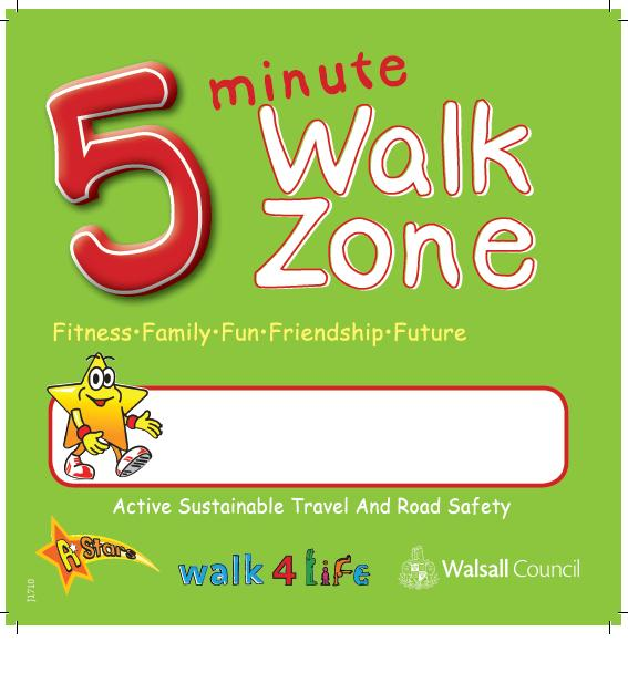 Abbey Primary School launch their 5 Minute Walking Zone