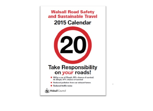 2015 Road Safety and Sustainable Travel Calendar is now available to download.