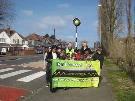 NEW School Safety Zone at Whitehall Junior School