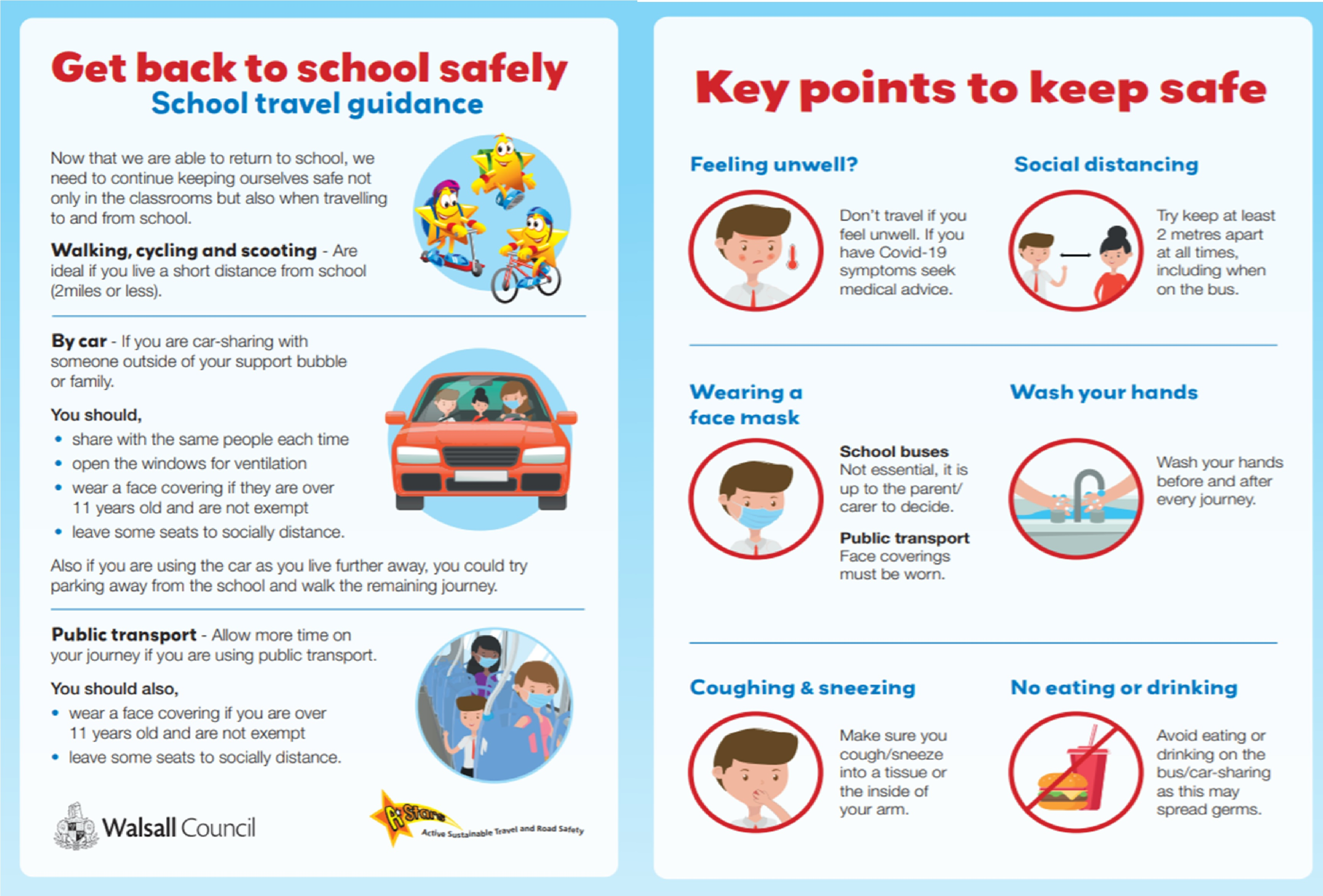 NEW! Getting back to school safely toolkit!