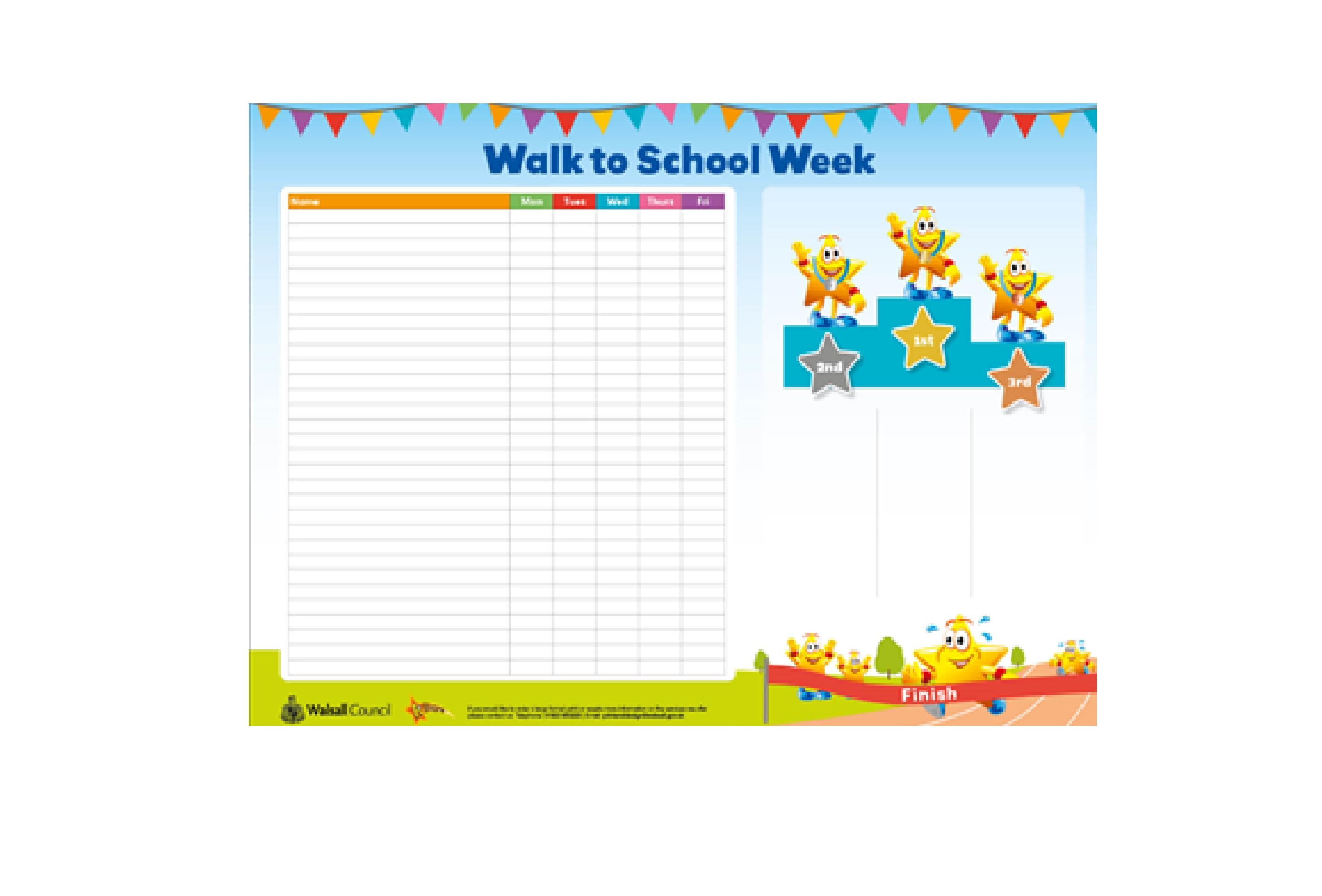 2021 Walk to School Week